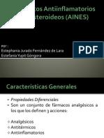 Fármacos Antiinflamatorios No Esteroideos (AINES)