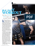 """RING READY WORKOUT"" - Train like a Muay  Thai fighter with  this killer workout!"