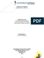 Limites de Atterberg (Informe)