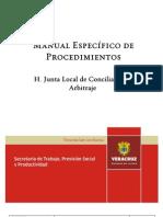 Manual de Procedimientos Juntas de Conciliacion