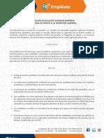 Becas Empléate 2012 - Programa de Apoyo a la Inserción Laboral