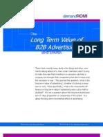 LongTermValueofB2BAdvertising