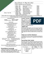 May6 Bulletin