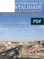 LIVRO DE ATAS | 1.º Congresso Internacional de Parentalidade do Instituto de Psicologia e Neuropsicologia do Porto