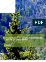 Forest Product Eco-Labeling and Certification