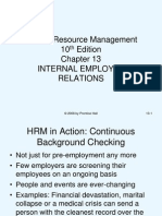 Internal Employee Relations