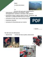 Caratteristiche del lavoro forestale