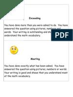exceeding meeting approaching defs