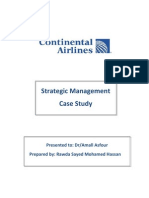 Final Exam-Rawda Sayed-Continental Airlines