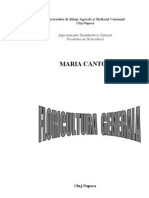 Curs Floricultura Generala Hortic Anul II Sem 2 Maria Cantor