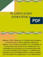 2009 planificación estrategica