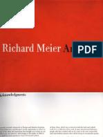 [Architecture eBook] Richard Meier Red Book