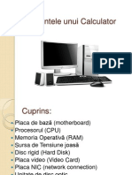 Elementele Unui Calculator