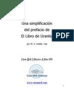 01 Una simplificación del prefacio del Libro de Urantia