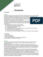 Fin Risk Management