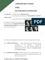 Desarrollo Clases Expresion Oral y Escrita