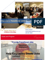 Wisconsin's Transitional Jobs Demonstration Project