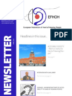 2012 EFHOH Newsletter Nr 2 May