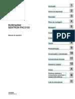 Manual SENTRON PAC3100 (português)