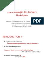 2- Epidemiologie - Dr Achab