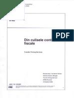 Din Culisele Controalelor Fiscale