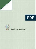 世界历史笔记