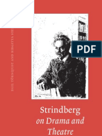 Strindberg on Drama Tornquist Steene