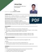 CV.mokaddes Ahmed Dipu.academic