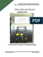 Elevator Drive Programming 11-2007