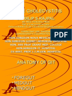 ACUTE CHOLECYSTITIS PPT.  DR DILIP S. RAJPAL