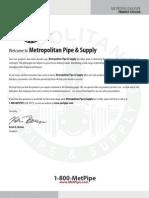 Metropolitan Pipe Catalog 2012-P1