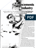 Casting Advancements 'Drive' Golf Industry