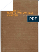 1-Theory of Matrix Structural Analysis