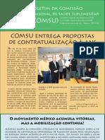 14º – Boletim da Comissão Nacional de Saúde Suplementar (COMSU)