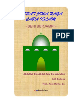[abdullah bin abdul aziz] sehat jiwa raga cara islam - seni berjampi