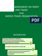 GATT and WTO - Foundation