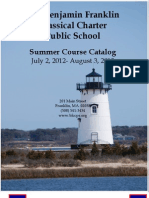 BFCCPS Summer Course Catalog 2012