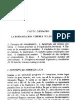 Historia del Derecho, Capítulo I - Italo Merello
