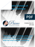 Essential Elements of Piano Technique