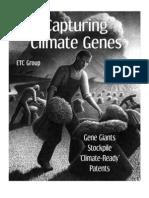 Capturing Climate Genes