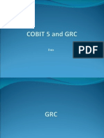 Cobit5 and Grc