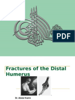 Fracture Distal Humerus (Surgical Anatomy , Classification and Treatment)