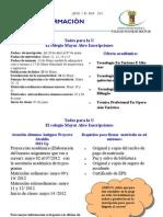 Boletin Informativo No 004