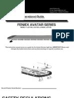 Avatar Instruction Manual