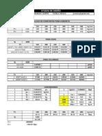Ayudas de diseño y constantes de calculo