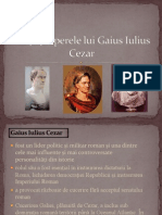 Viaţa şi operele lui Gaius Iulius