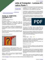 Guida al Computer - Lezione 51 - Il Sistema Operativo Parte 1