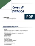 CHIMICA 1 Struttura Dell'Atomo