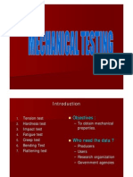 13 Mechanical Testing