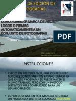 MANUAL DE EDICIÓN DE FOTOGRAFIAS